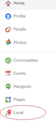 google-local-menu