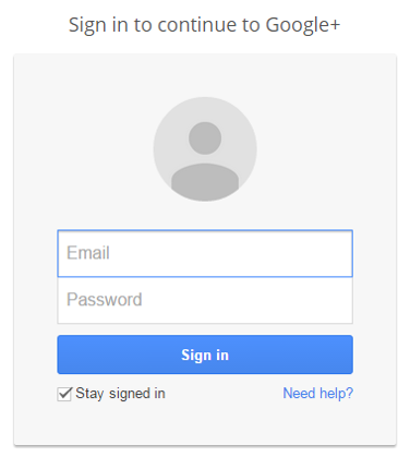 google-local-signin