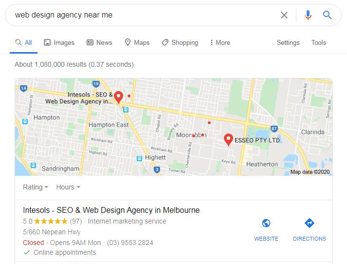 web design agency near me